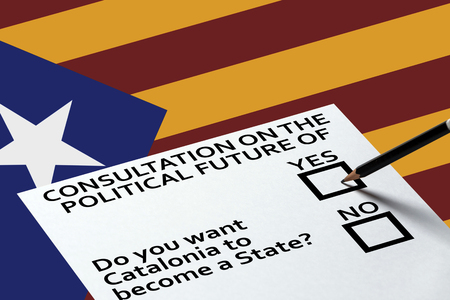 politic: Bulletin for voting on the background. Democracy Freedom Independence Concept