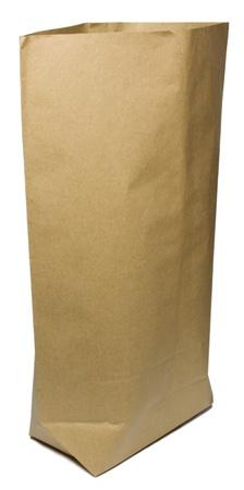 Shopping bag on white background  photo