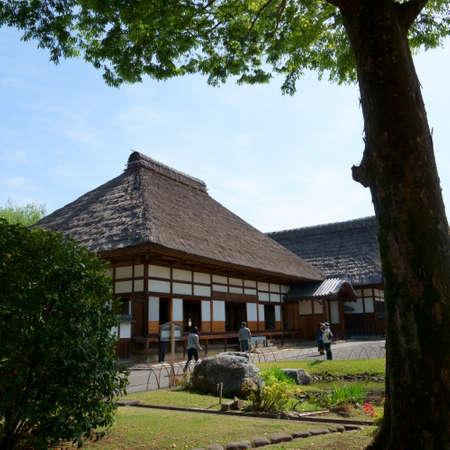 Ashikaga, Tochigi / Japan April 29, 2019: Ashikaga Gakko is Japan's oldest academic institution. Landscape
