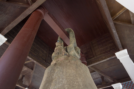 Interior structure of Mingun Bell pavilion (The world's largest ringing bell), Northwest of the city of Mandalay, Myanmar