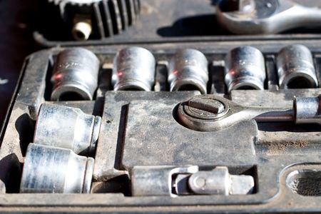 Metal tools useful in every garage Stock Photo - 6643125