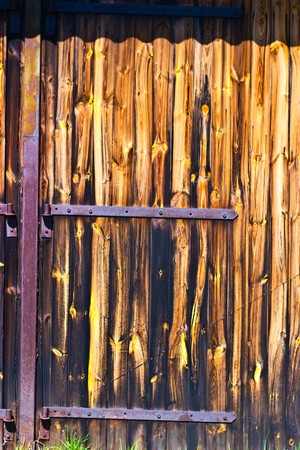 very old antique colored door of the building Stock Photo - 6936417