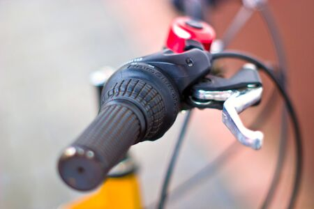 bike, small parts of bike in sunny day