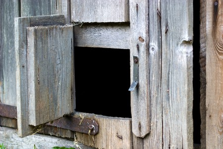 very old antique colored door of the building Stock Photo - 7374794
