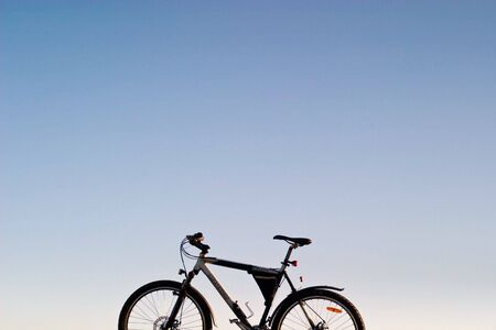 bike, small parts of bike in sunny day Stock Photo - 7442432