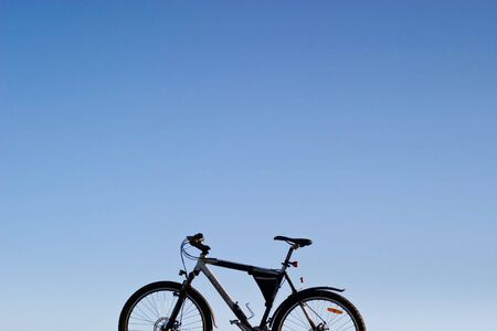color bike, small parts of bike in sunny day, bike series Stock Photo - 7493602