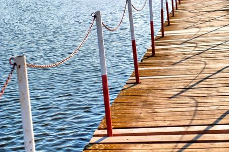 Brücke auf dem blauen Fluss, Bau, Umwelt Ingenieurwesen