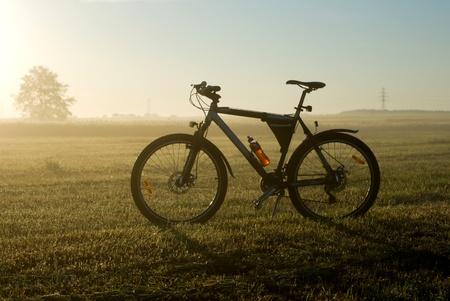 color bike, bike series, parts of bike in sunny day