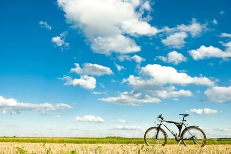 color bike in sunny day, bike series, parts of bike in sunny day photo