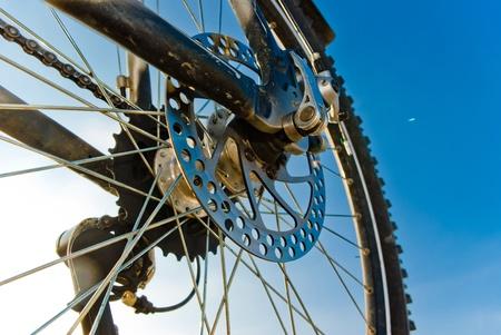 color bike in sunny day, bike series,