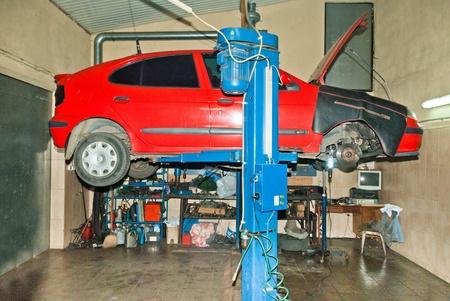 auto parts, auto repair shop, part of a car engine. Stock Photo - 11687569