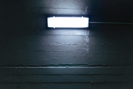 shot of a garage lamp, lamp for night reading and working Stock Photo - 22296759
