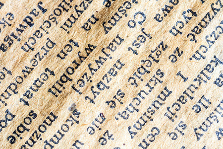 old recipe writing detail, vintage letter detail photo