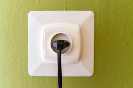 Farbe Drähte In Eine Schachtel Verteilung Eines Strom- Lizenzfreie ...