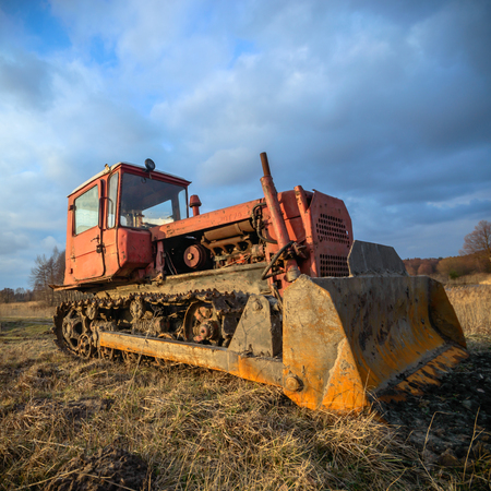 digger: digger, old heavy duty construction equipment, industrial series