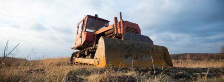big heavy duty construction equipment, industrial series Stock Photo