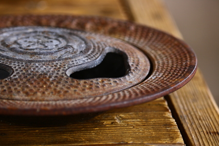 ashtray close up
