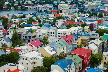 Beautiful Reykjavik View