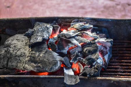 Charcoal grill stove 版權商用圖片