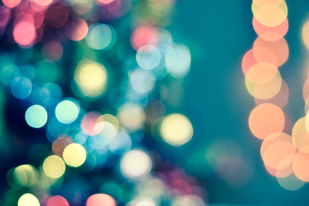 Christmas bokeh, Merry christmas and Happy New Year. 版權商用圖片