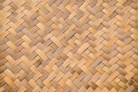 Basket bamboo pattern background of Thailand