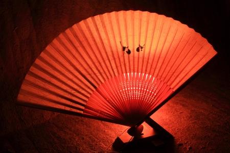 Sensu; giapponese ventaglio pieghevole 2