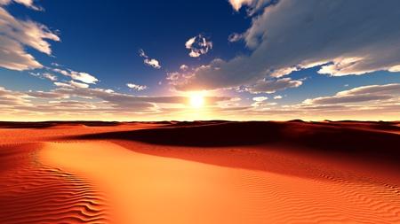desert sun: desert sand