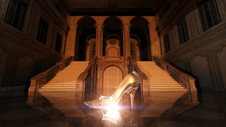 glass slippers Stock Photo - 9590430