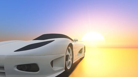sports cars: sports car Stock Photo