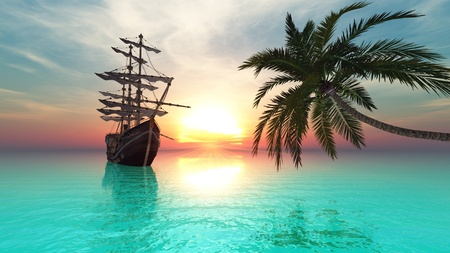 sailing boat: sailboat