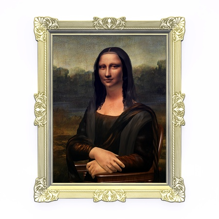 Mona Lisa Banque d'images
