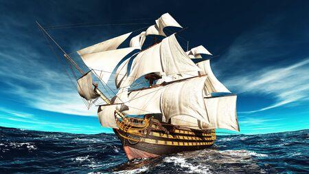 sailing boat: sailing boat