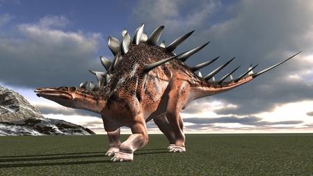 恐竜 写真素材