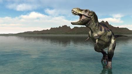 rex: dinosaur  Stock Photo