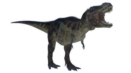 extinction: dinosaur Stock Photo