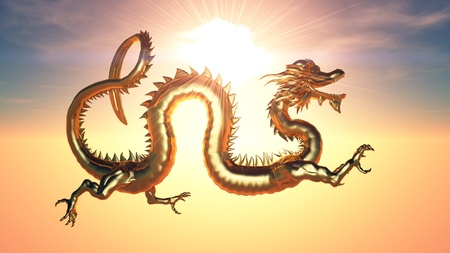 dragon  Archivio Fotografico