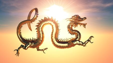 dragon  Zdjęcie Seryjne