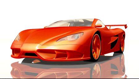 sportscar: sportscar Stock Photo