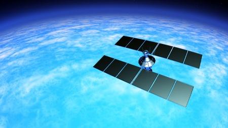 Man-made satellite