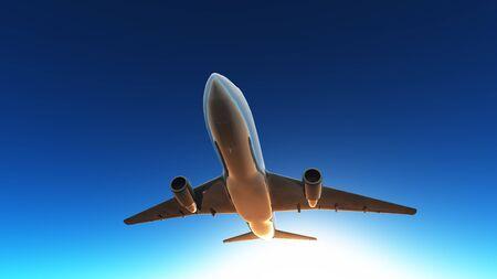 airplane  Archivio Fotografico