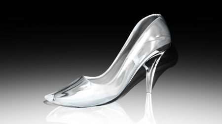 glass shoes  Stock Photo - 14343441