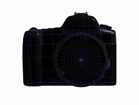 Digital SLR camera Фото со стока