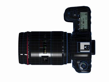 デジタル一眼レフ カメラ 写真素材 - 14550127