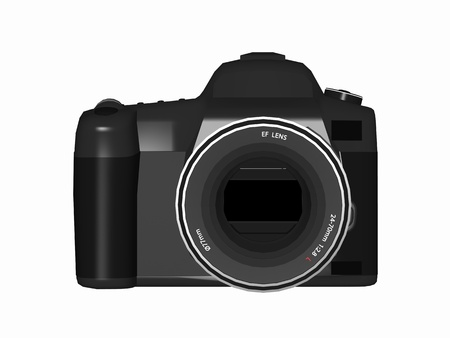 デジタル一眼レフ カメラ 写真素材 - 14542573