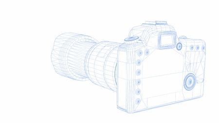 デジタル一眼レフ カメラ 写真素材 - 14591256