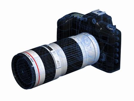 デジタル一眼レフ カメラ 写真素材 - 14591369