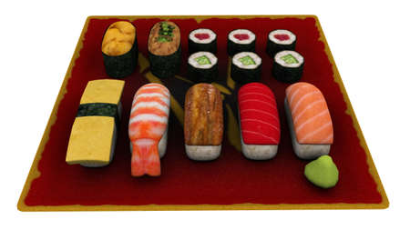 fishery products: Sushi