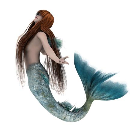 mermaid  Archivio Fotografico
