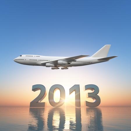 2013 と飛行機