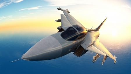 avion chasse: combattant Banque d'images